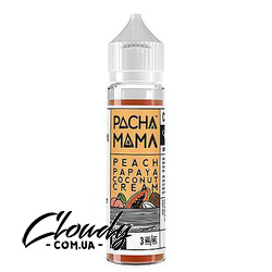 PachaMama - Peach Papaya Coconut Cream 3 mg 60 ml