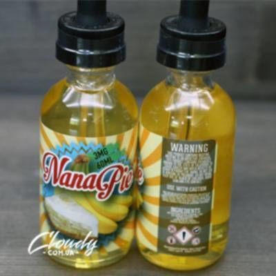 Bake IT Vapor - Nana Pie 3mg 60ml