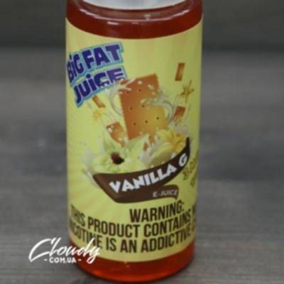 Big Fat Juice - Vanilla G 3mg 120ml