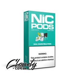 Nic Pods Menthol 50 мг 0.7 мл (4 шт) Фото№8
