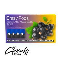 Crazy Pods - Cartridge Currant 0.7ml 50mg (4 шт)