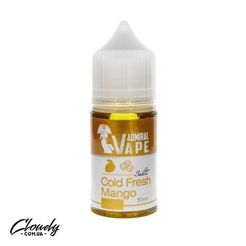 Admiral Vape - Salt Cold Fresh Mango 30 ml 35 mg