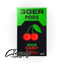 3Ger Pods Sour Cherry 50 мг 1 мл (4 шт) Фото№15