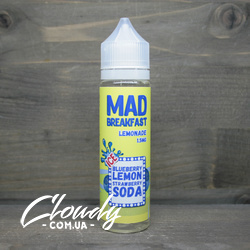 Mad Breakfast - Lemonade Ice 3mg 60ml Жидкость со льдом