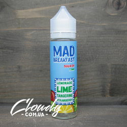 Mad Breakfast - Squash 1,5mg 60ml цитрус