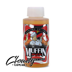 Клубника Mini Muffin Man 3mg 100ml Фото№2