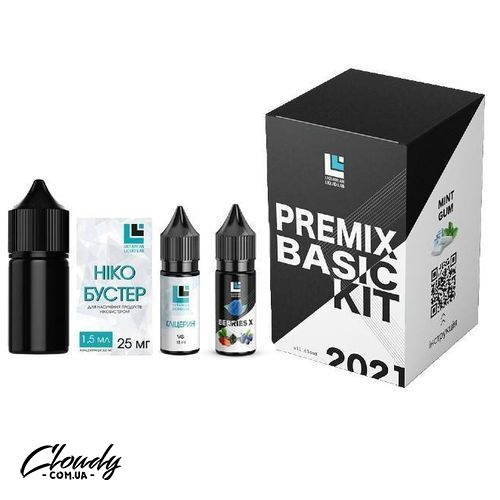 Premix BASIC Kit Salt - Berries X 30 ml 25 mg