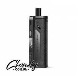 Lost Vape - Thelema 80W Pod Mod Kit (Black Grain Leather)