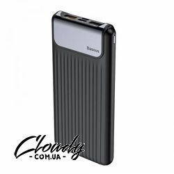 10000 mAh Повербанки Thin Digital QC3.0 10000 мАч (Black) Фото№1